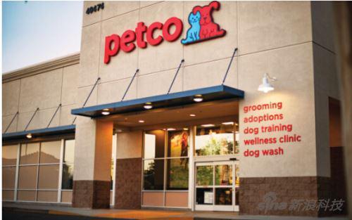 Petco的美国门店
