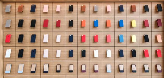 一面牆的手機殼