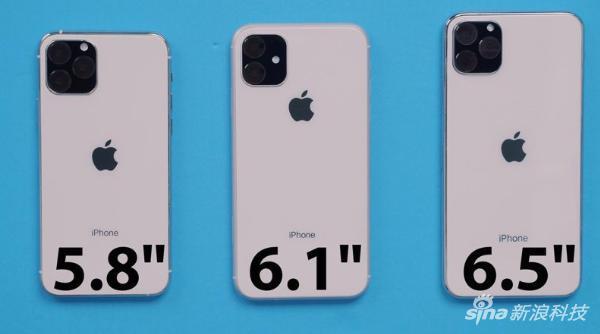 新iPhone依然是三种尺寸