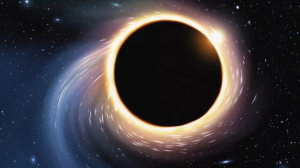 无限密度点的概念来自于我们对静止、不旋转且不带电的黑洞的认知。真正的黑洞要有趣得多,尤其是当它们旋转的时候