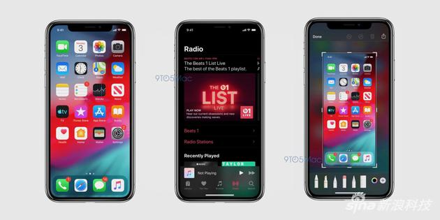 iOS 13黑色模式