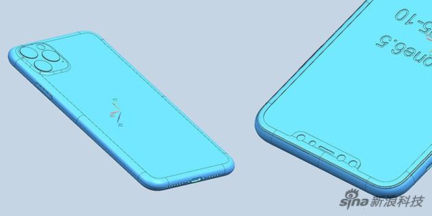 今年的iPhone被曝光的比较彻底,连CAD图纸都出来了