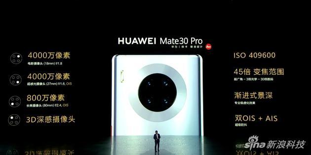 Mate30 Pro相机系统