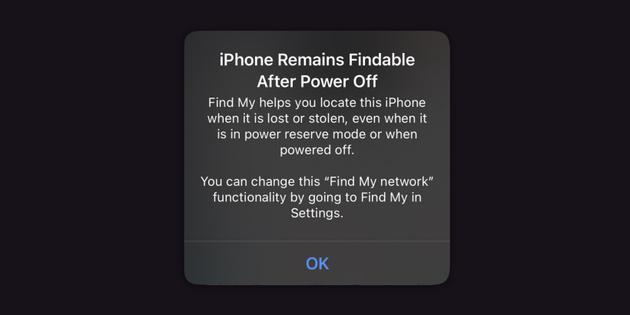 """苹果iOS 15:关机或恢复出厂设置 仍可""""查找""""你的iPhone"""