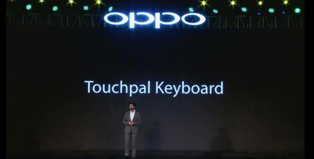 (OPPO印度手機發佈會和觸寶合作)