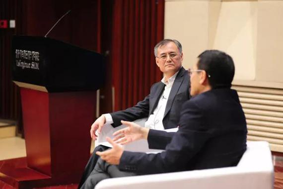 钱颖一院长与沈南鹏共话学习、成长和责任
