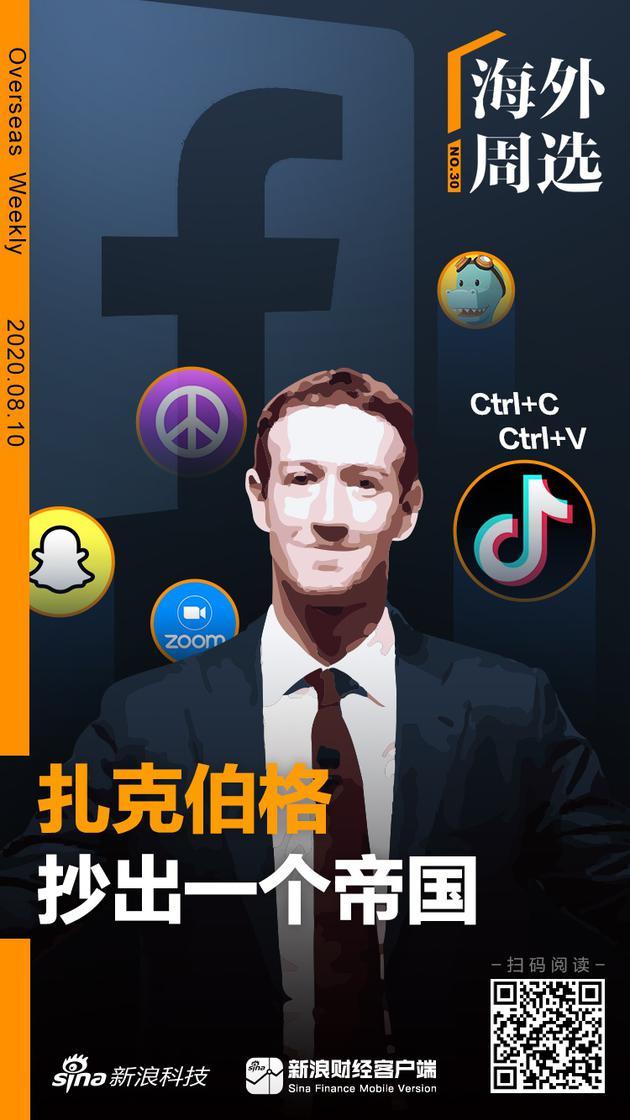 海外周选 | Facebook到底抄袭过多少应用?