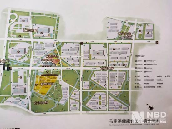 马家浜健康食品小镇全景图 图片来源:每经记者 张韵 摄