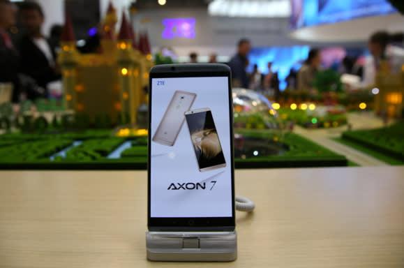 中兴Axon7等设备均搭载高通或英特尔处理器