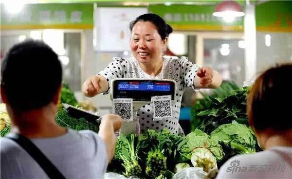 中国的二维码普及程度