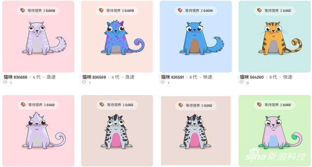 區塊鏈遊戲《謎戀貓》