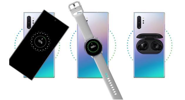 三星手机的反向无线充电功能