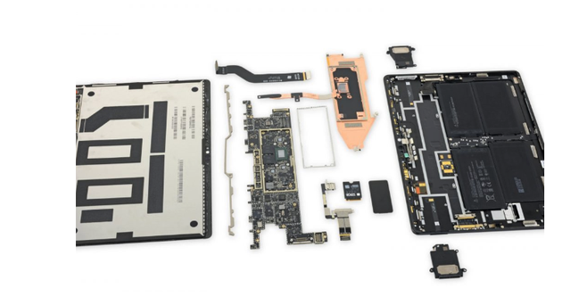 Surface Pro X拆解