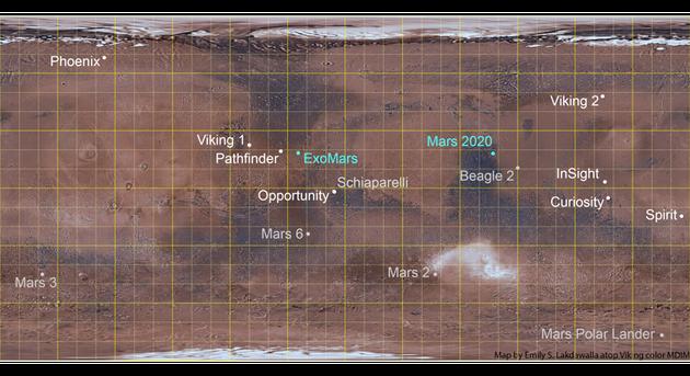 無論火星車去到哪裏,都會有令人意想不到的發現