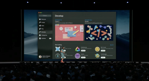 macOS新版本Mojave