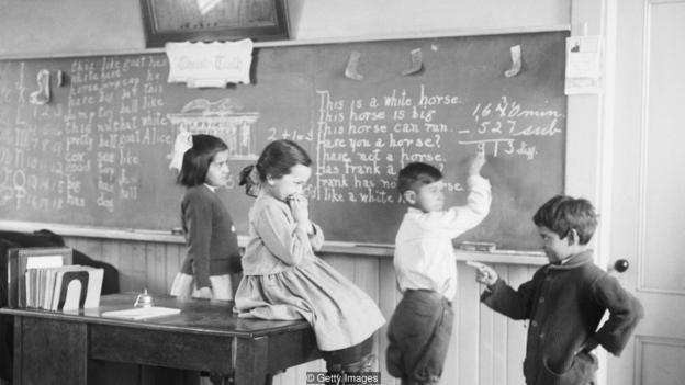 20世紀20年代的智商測試分數要遠低於今天