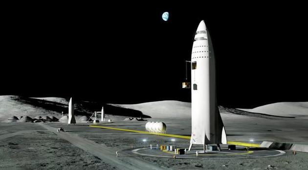SpaceX的月球旅客为什么不登上月球?