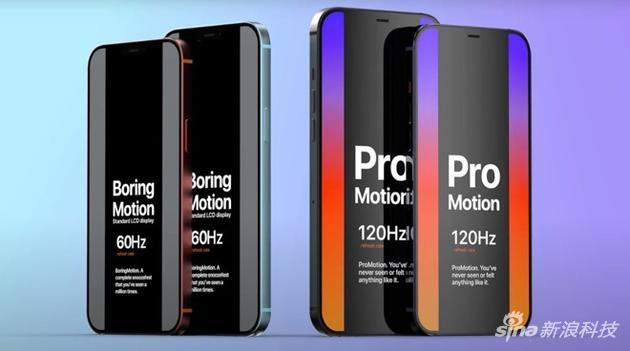 傳聞新iPhone 12 Pro支持120Hz刷新率屏幕