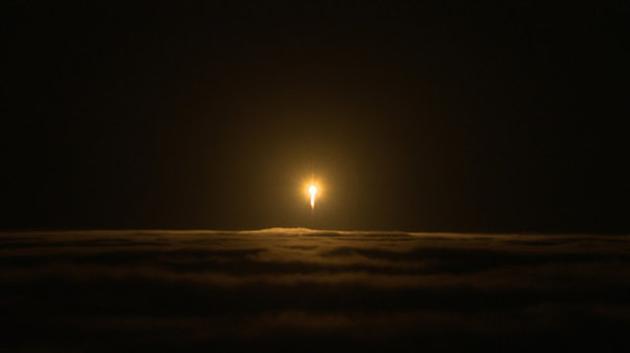 """NASA火星着陆器""""洞察号""""搭乘一枚联合发射联盟宇宙神V型火箭,于太平洋时间5月5日上午4点05分(北京时间晚19点05分)从南加州范登堡空军基地发射升空。"""