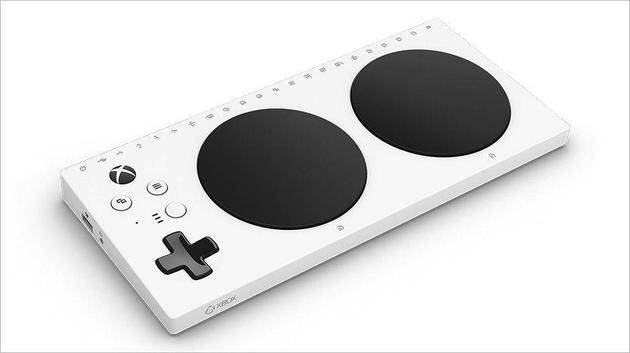 微软推出:残障人士定制Xbox自适应手柄 体验游戏的快乐