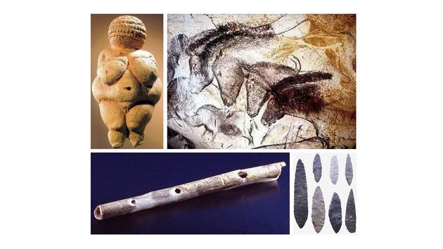 古人类创造的艺术品