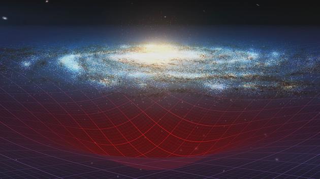 遥远星系的质量并不比地球邻近星系更大。