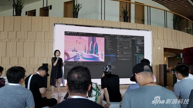 传统VR互动内容需要专用引擎实现