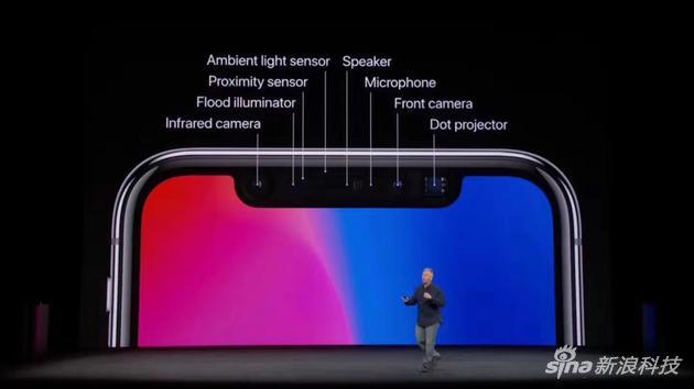 """苹果的Face ID让""""刘海屏""""流行了起来"""
