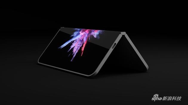 微软折叠手机Andromeda假想渲染图
