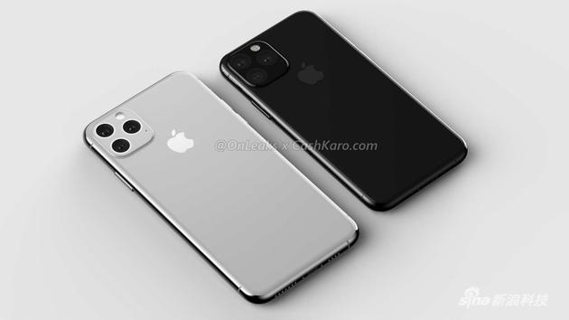 iPhone 11系列渲染图