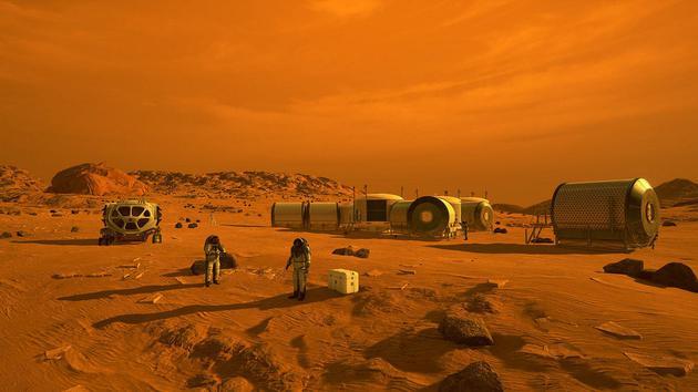 别那么乐观:人类或许永远都无法殖民火星火星火星上肿胀