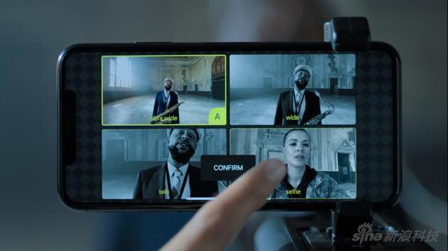发布会上这一幕让很多人震惊,没人想过一个手机能前后四镜头同时取景,还能任选两个录制,这背后是强大运算力做基础
