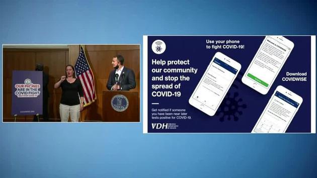 弗吉尼亚州发布美国首个针对新冠病毒接触者的追踪应用