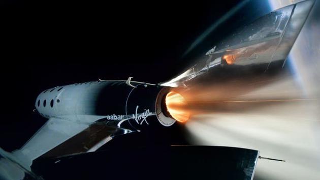 维珍银河10月22日开展载人航天飞行测试 将载4人