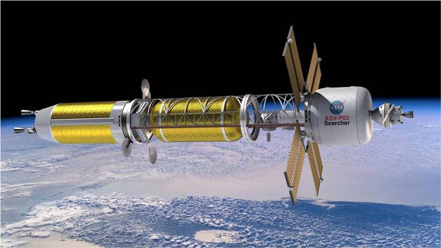 飞向火星,重新设计的核动力火箭值得一试|核反应堆