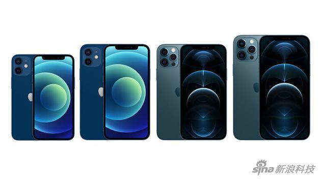 20年第四季度iPhone 12系列中国销量1800万部