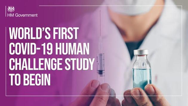 故意让人感染新冠病毒,英国批准新冠挑战试验