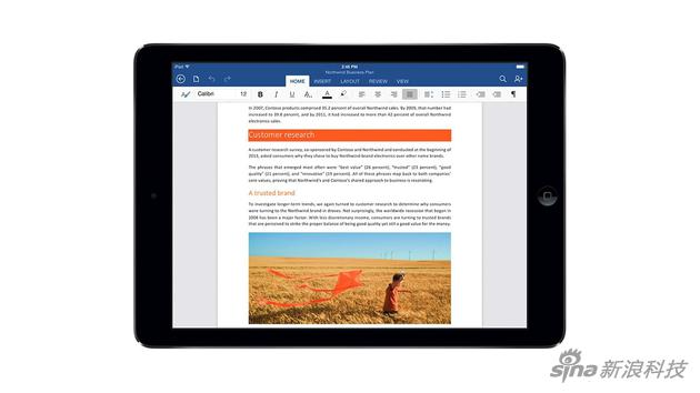 iPad版office辦公套件