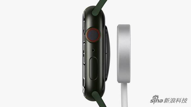 "Apple Watch Series 7发布 外观没变""方"",只是更圆更大屏了"