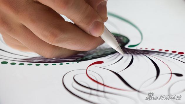 Apple Pencil具备压力感应