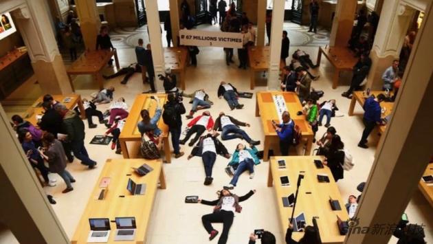 這個組織聲稱自己是一個抗議蘋果在歐洲避稅的志願者協會