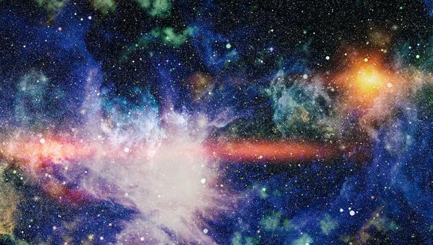 目前的研究都表明,宇宙在很大程度上是均匀的,而且没有在旋转。