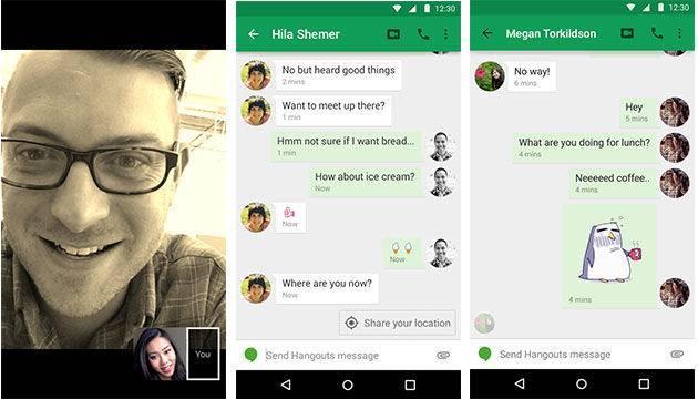 (Hangouts 曾被谷歌寄予拓展社交应用领域的厚望 图 | Engadget )