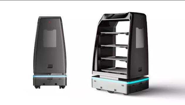 送餐机器人 图/云迹科技