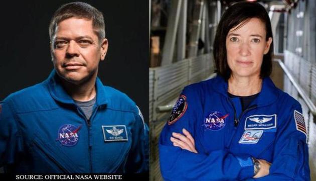 鲍勃・本肯与梅根・麦克阿瑟是nasa的伉俪宇航员。<BR>   两人都搭乘过这艘龙飞船