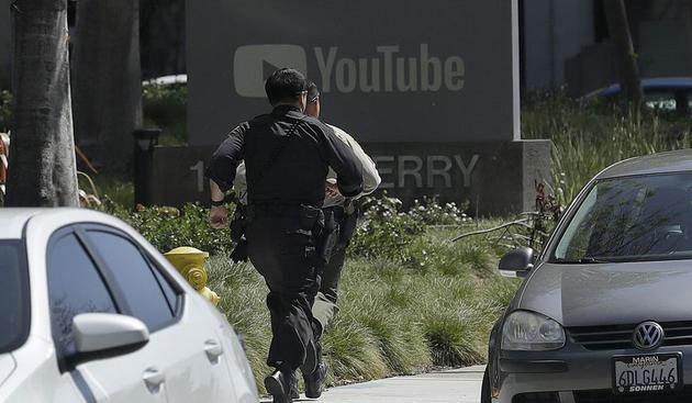YouTube总部附近发生枪击案:三人受伤 嫌疑人已死亡