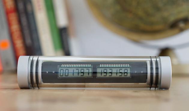 能用一辈子的神奇电子钟 启动后便永不停止 Kickstarter或官网购买