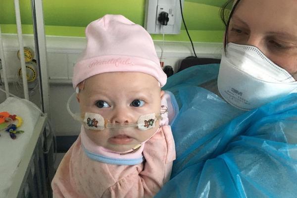 宝宝天生没有免疫系统 一个吻便可能要了其小命