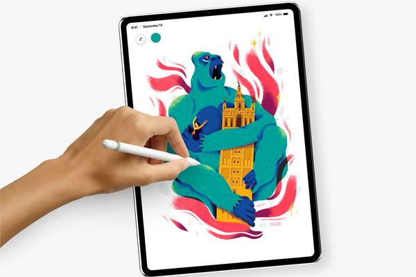 新iPad Pro概念设计图:超窄边框+面容识别