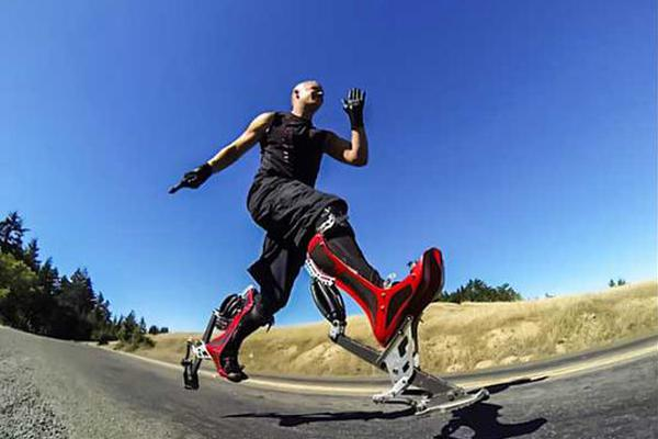 bionic boot仿生鞋,穿上它比世界冠军还跑得快